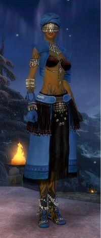 Armure de Seitung-Ritualiste-Femme