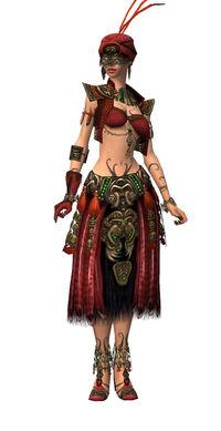 Armure d'Asura-Ritualiste-Femme