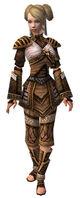Armure canthienne d'élite-Moine-Femme