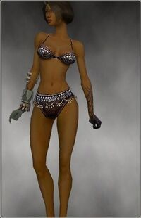 Armure de Seitung-Ritualiste-Bras-Femme