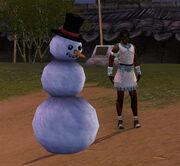 Effet Invocateur de bonshommes de neige 1