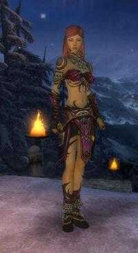 Armure du Monument-Ritualiste-Femme