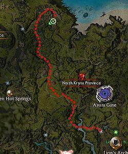 Inquisitor Lashona Location