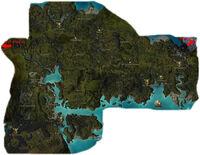Carte de la région de la Kryte