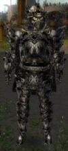 Armure d'obsidienne-Guerrier-Homme
