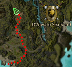 Zaln the Jaded Location