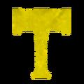 Experientia Docet Hammer emblem.png