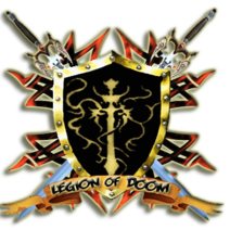 X Legion of Doom X Shield Logo