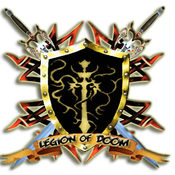 X Legion of Doom X Shield Logo