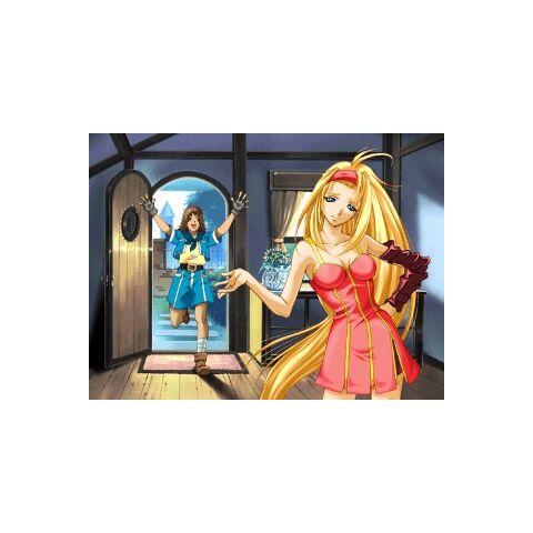 <b>Millia Rage's</b> '<i><b>Guilty Gear X'</b></i> Arcade Mode ending