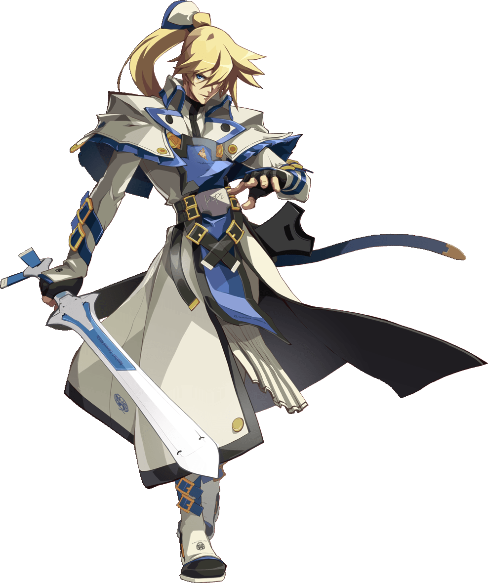 Image result for guilty gear ky sword