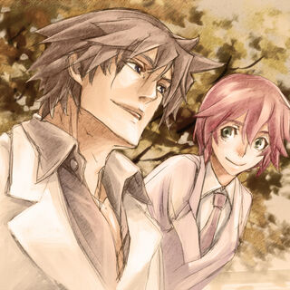 Aria and Frederick in <i>-SIGN-</i>.