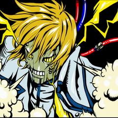<i>Slash</i> Arcade ending.