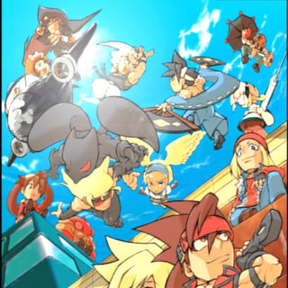 <i><b>Guilty Gear X Plus</b></i> Bonus <b>Guilty Gear Petit</b> Art