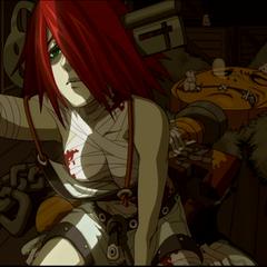 <i>Λ Core</i> Arcade ending.