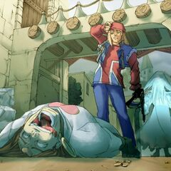 <i><b>Guilty Gear XX ♯Reload</b></i> Story Mode ending 2