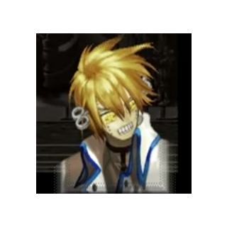 <i>X Plus</i> Portrait, only seen in Ky's story mode.