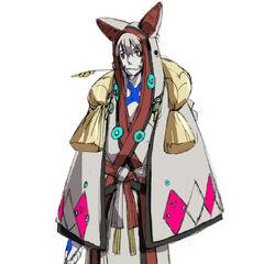 Izuna in Guilty Gear Vastedge XT