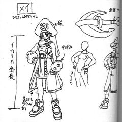 <i><b>Guilty Gear X Drafting Artworks</b></i> 1