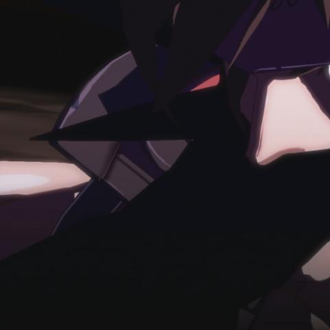 Raven grabbing Sol.