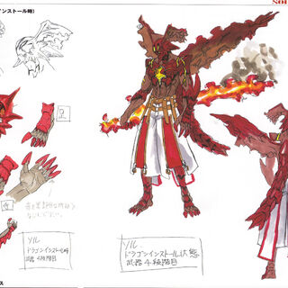 <i><b>Guilty Gear 2 Overture Material Collection</b></i> Drafting Artworks