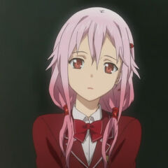 Inori in her school uniform