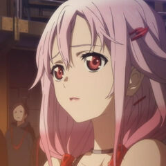 Inori's worried expression