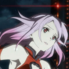 Inori runs to save Shu