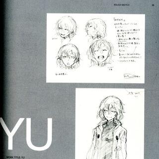 Yuu's Character Design