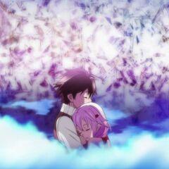 Shu imagines holding Inori.