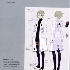 Yuu Character Design