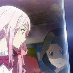 Inori is stopped from saving Shu