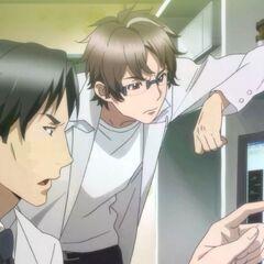 Kurosu and his fellow researcher, Shuichiro Keido