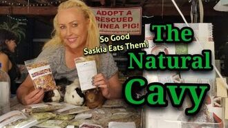 Natural Cavy Treats, So Good Saskia Eats Them!