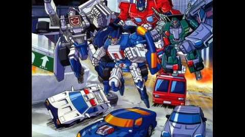 "Transformers Car Robots OST Track 4 ""Car Brothers Theme"""