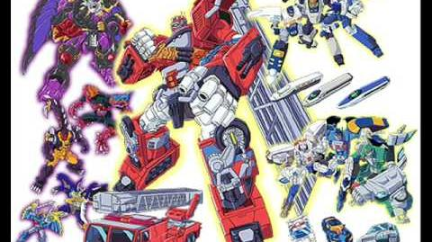 "Transformers Car Robots OST Track 1 ""Burning Overdrive (TV Version)"""