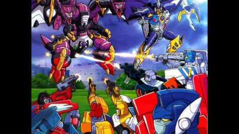 "Transformers Car Robots OST Track 14 ""Against the Odds"""