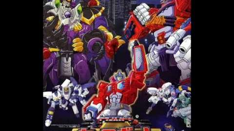 "Transformers Car Robots OST Track 8 ""The Battle"""