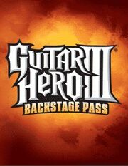 Guitar Hero 3 Backstage Pass