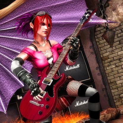 Image result for judy nails guitar hero 3""