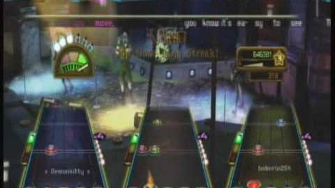1st Full Band FC Guitar Hero Hits - Round and Round - Ratt