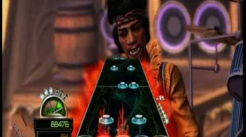 Guitar Hero World Tour DLC Guitar Little Wing FC