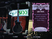 Controller, Guitar Hero III