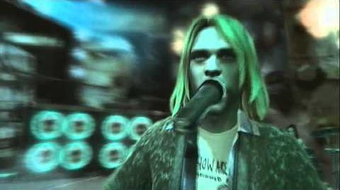 Guitar Hero 5 - Lithium(Live) Performance By Kurt Cobain