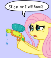Fluttershy will shoot