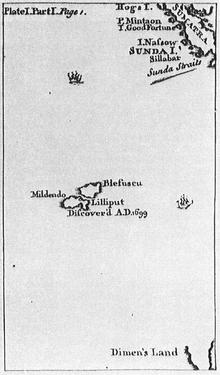 Moll - Map of Lilliput