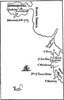 Brobdingnag map