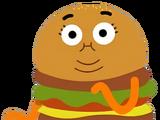 Policier hamburger