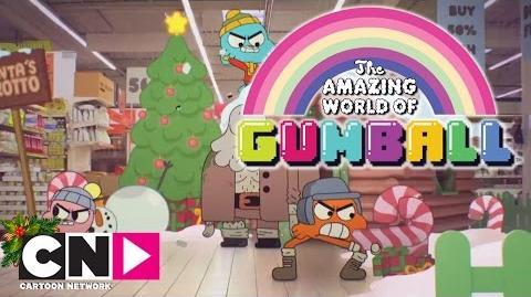 Le faux Père Noël Gumball Noël Cartoon Network