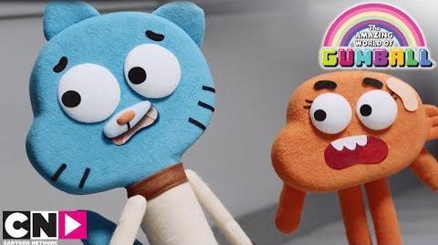 Les marionnettes Le Monde Incroyable de Gumball Cartoon Network